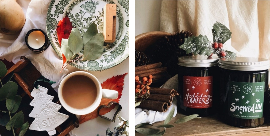 Sustainable Christmas with Stone and Sage