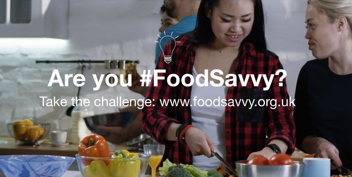 starting the #foodsavvy challenge