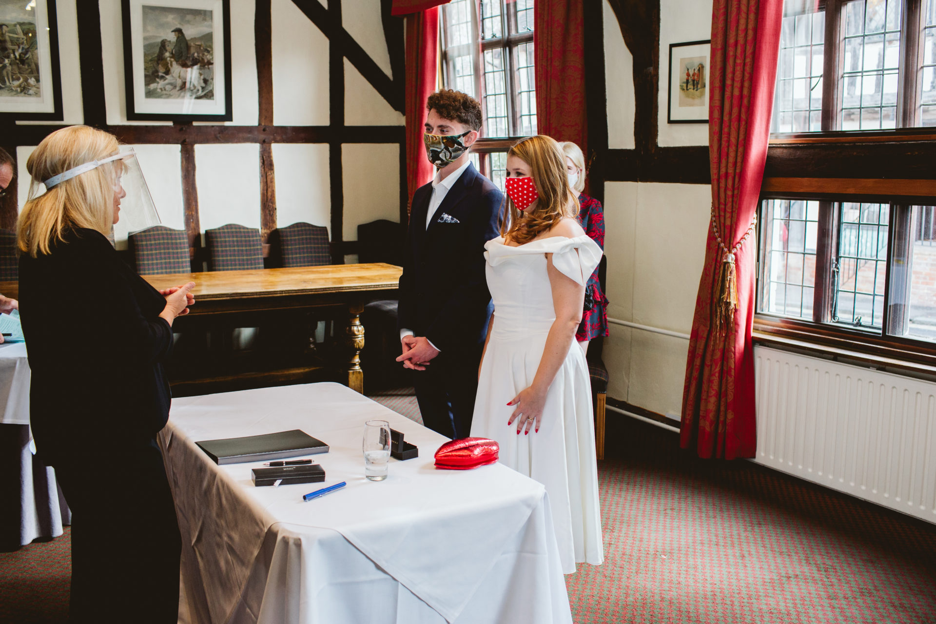 A Covid Wedding in Suffolk